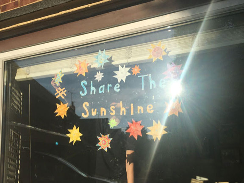 share the sunshine